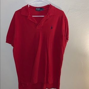 Classic Vintage Polo Ralph Lauren Polo Shirt Red
